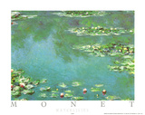 Waterlilies Posters por Claude Monet