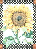 Janelle (Checkerboard Sunflower) Fotografia