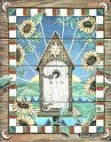 Chardonn (Sunflower Birdhouse) Affiches par Jonnie K. Chardonn