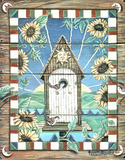Chardonn (Sunflower Birdhouse) Prints by Jonnie K. Chardonn