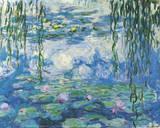 Water Lilies 4 Posters by Claude Monet