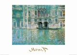 Palazza da Mula a Venezia Art by Claude Monet