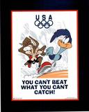 Looney Tunes Olympics Roadrunner & Coyote Reprodukcje