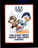 Looney Tunes Olympics Roadrunner & Coyote Prints
