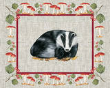 Nice Animals Badger Posters