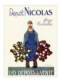 Depot Nicolas Prints by  Dransy
