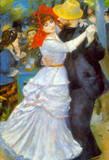 Pierre Auguste Renoir Dance at Bougival Art Print Poster Masterprint