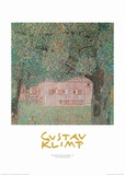 Farmhouse Northern Austria Prints by Gustav Klimt