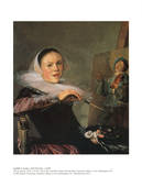 Self-Portrait Art by Judith Leyster