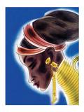 Ndebele Woman Print by Frank Mcintosh