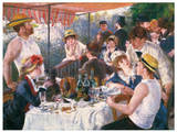 Luncheon of the Boating Party Posters by Pierre-Auguste Renoir