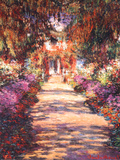 The Garden Path Poster von Claude Monet
