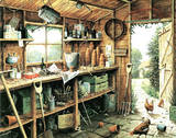 Garden Shed Posters by  Hersey