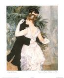 Dance In Town Foto von Pierre-Auguste Renoir