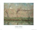 Printemps Bord de L'Epte Claude Monet Poster