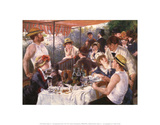 Luncheon of the Boating Party Print by Pierre-Auguste Renoir