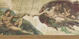 The Creation of Adam Kunst af Michelangelo Buonarroti