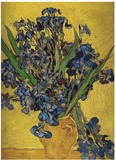 Iris in Vase Prints by Vincent van Gogh