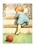 Toddling Baby Affiches par Jessie Willcox-Smith