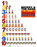 Mickey Mouse and Friends 1 to 10 Counting Photo