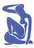 Nu Bleu I Poster by Henri Matisse