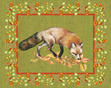 Nice Animals Fox Poster