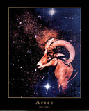Astrology Horoscope (Aries) Posters