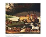 Noas ark Affischer av Edward Hicks