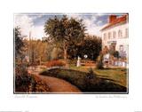 Le Jardin des Mathurins Posters av Camille Pissarro