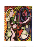 Girl Before a Mirror Prints by Pablo Picasso
