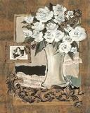 Lamour tou jour Music Flower Vase Posters