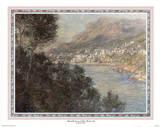 vue du Cap Martin Posters by Claude Monet