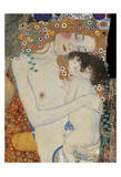 The Three Ages of Woman Detail Posters by Gustav Klimt