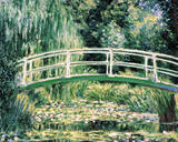 White Water Lilies Print by Claude Monet