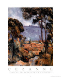 View of Estaque Prints by Paul Cézanne