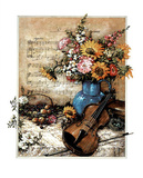 Music Floral no.  2 Posters