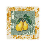Toiles Pears Poster
