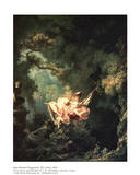 Le swing Posters par Jean-Honor&#233; Fragonard