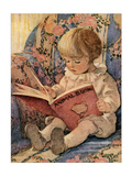 Toddling Baby Affiche par Jessie Willcox-Smith