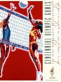 Olympic Beach Volleyball, c.1996 Atlanta Posters by Hiro Yamagata