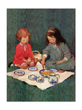 Picnic Prints by Jessie Willcox-Smith
