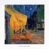 Pavement Cafe at Night Julisteet tekijänä Vincent van Gogh