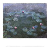 Water Lilies 2 Posters by Claude Monet