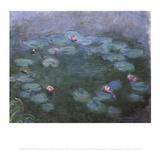 Water Lilies 2 Pósters por Claude Monet