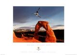Aerials Delicate Arch 2002 Salt Lake City Olympics Plakaty