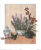 Arrangement Asian Flower Orchard Posters