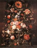 Flower Vase (Still Life) Print