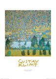 Gustav Klimt - Mountain Slopes at Unterach Obrazy