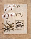 Oriental Long Life Floral - Reprodüksiyon