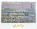 Charing Cross Bridge Posters by Claude Monet